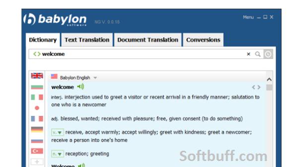 Babylon Translator 2021 Offline free download