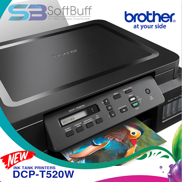 Brother DCP-T520W Driver Free Download