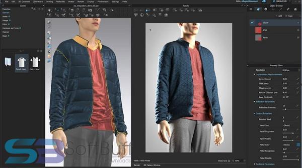 Download CLO 3D Fashion Design 5 for Windows free
