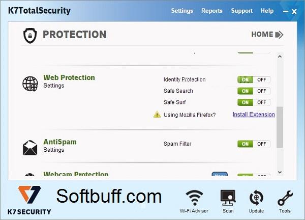 Download K7 Total Security 16 free