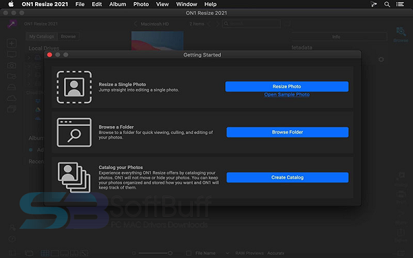 Download ON1 Resize 2021 for Mac free