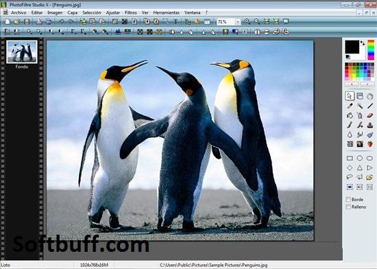 Download PhotoFiltre Studio 11.2 Portable free