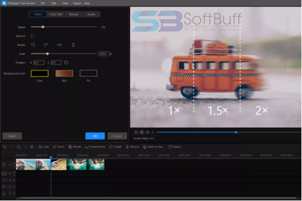 Download ToolRocket VidClipper Video Editor 1.9.0.0 free
