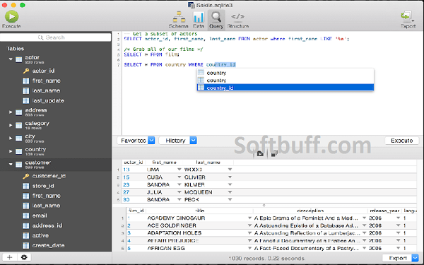 SQLPro for SQLite 2021 for Mac free download