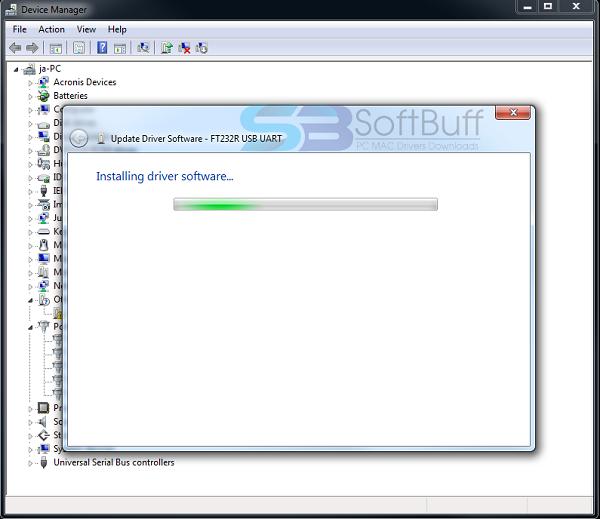Unitek FT232R USB UART driver free download