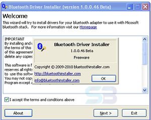Download Bluetooth Driver Installer 1.0.0.128 for Windows free