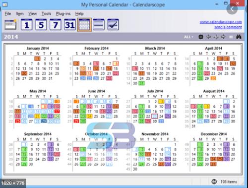 Download Calendarscope 11 Offline free