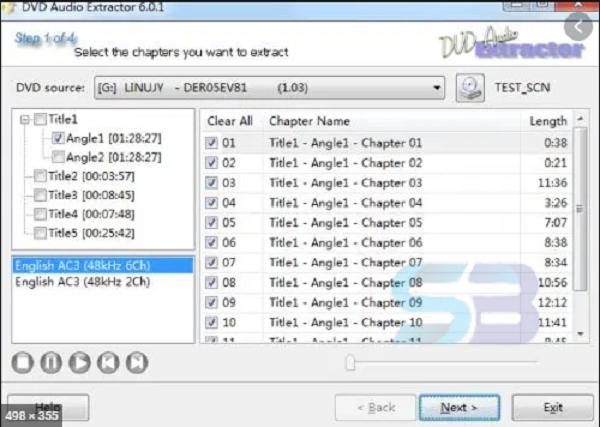 Download DVD Audio Extractor 8.1.0 free