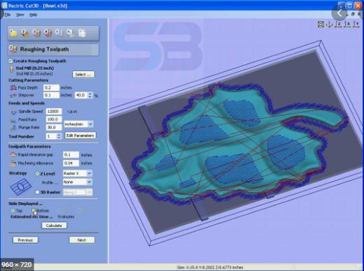 Download Vectric Cut3D 1.1110 free