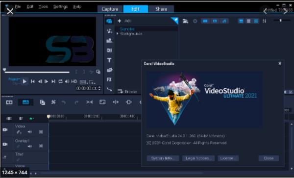 Download VideoStudio Ultimate 2021 free