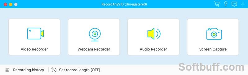 Download Vidpaw RecordAnyVid 1.1.26 free
