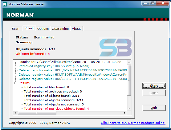 Norman Malware Cleaner 2021 free download
