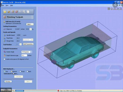 Vectric Cut3D 1.1110 free download