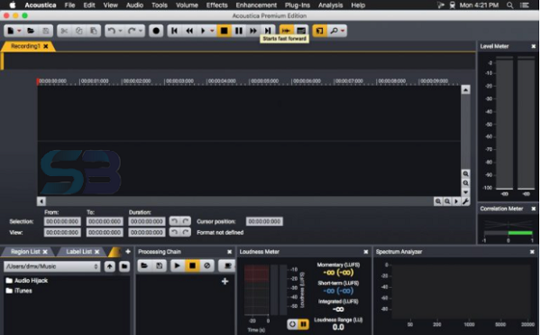 Acoustica Premium Edition 7 for Mac free download