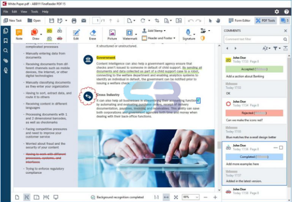 Download ABBYY FineReader PDF 15 for Mac free