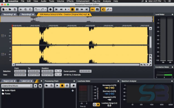 Download Acoustica Premium Edition 7 for Mac free