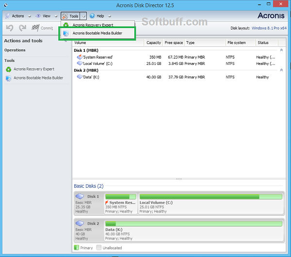 Download Acronis Disk Director 12 free