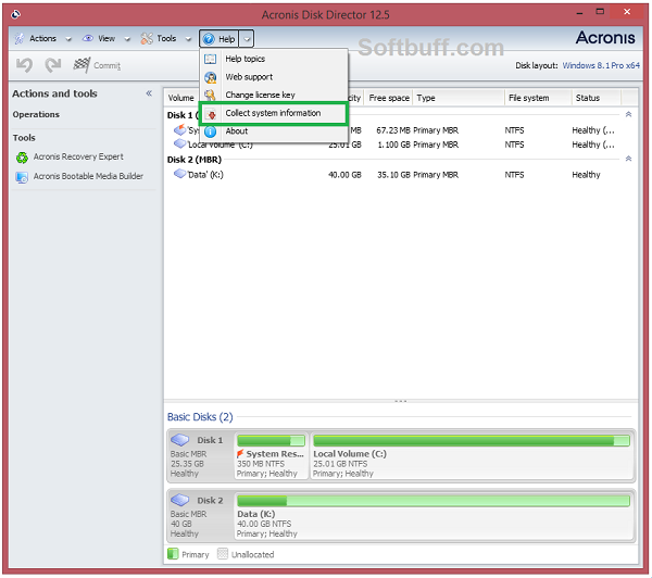 Download Acronis Disk Director 12.5 Bootable ISO free