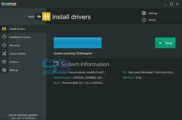 DriverHub Offline Installer free download