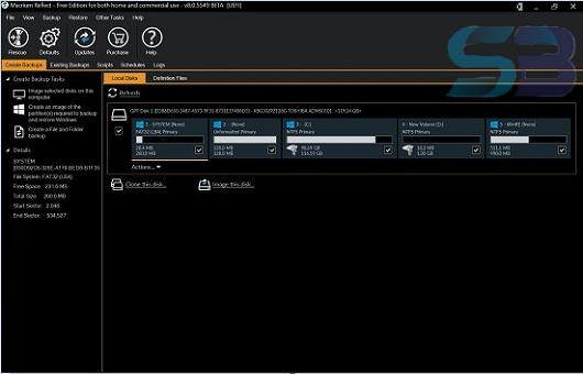 Macrium Reflect Technician's 8.0.6034 Bootable USB free download