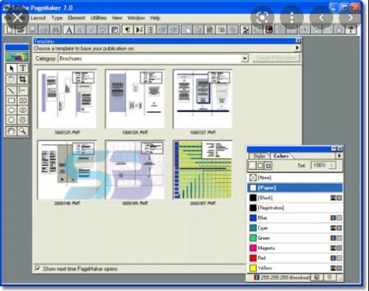 Adobe Pagemaker 7.0 free download