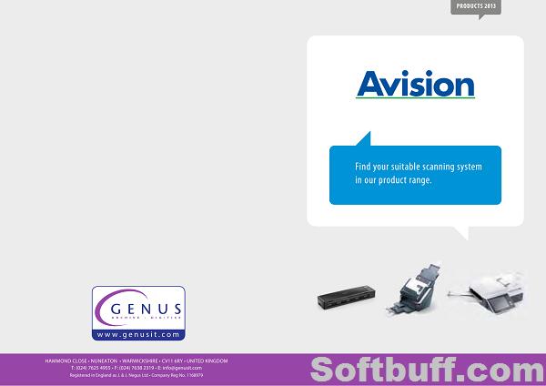 Download Avision FB1000N Scanner Driver free