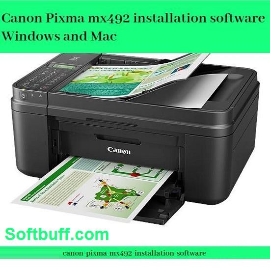 Download Canon PIXMA MX492 Driver for Windows free