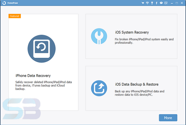 Download FonePaw iOS System Recovery 8 Offline free