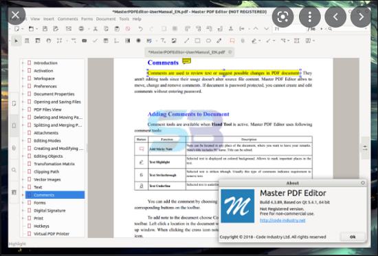 Download Master PDF Editor 5 free