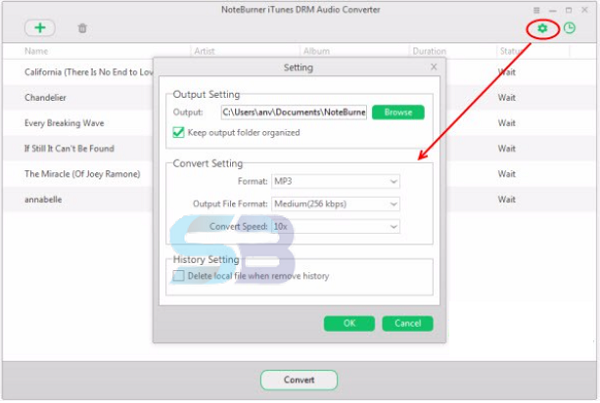 Download NoteBurner iTunes DRM Audio Converter 4 free