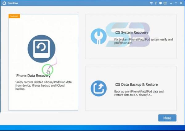 FonePaw iOS Data Backup and Restore 2021 free download