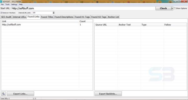 VovSoft SEO Checker 5 free download