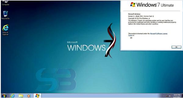 Windows 7 Super Lite Edition ISO File free download
