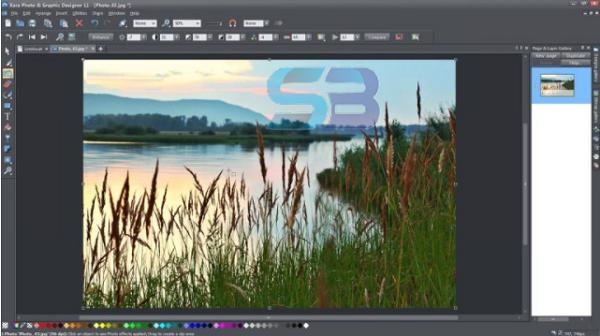 Xara Photo & Graphic Designer 18 free download