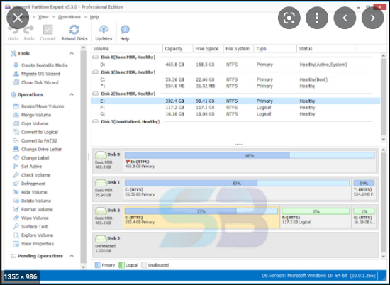 Download Macrorit Disk Partition Expert v4.9 free