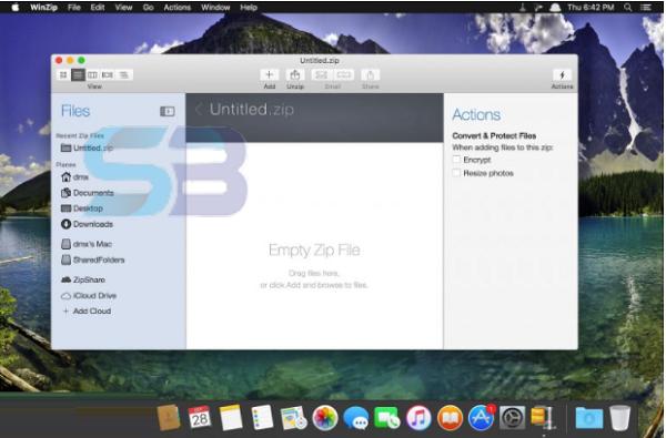 WinZip Pro 9 for Mac free download