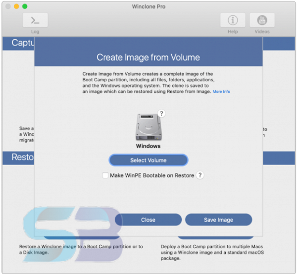 Winclone Pro 9 for Mac free download