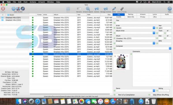 Yate 6 for Mac free download