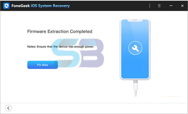 download FoneGeek iOS System Recovery 2021 free