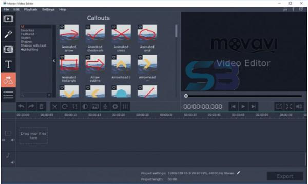 Download Movavi Video Editor Plus 22 free