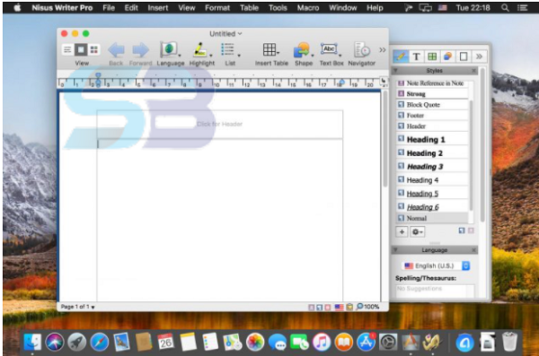 Nisus Writer Pro 3 for Mac free download