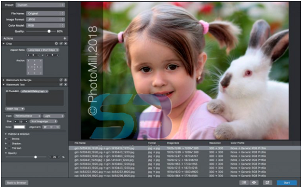 PhotoMill X 2 for Mac free download